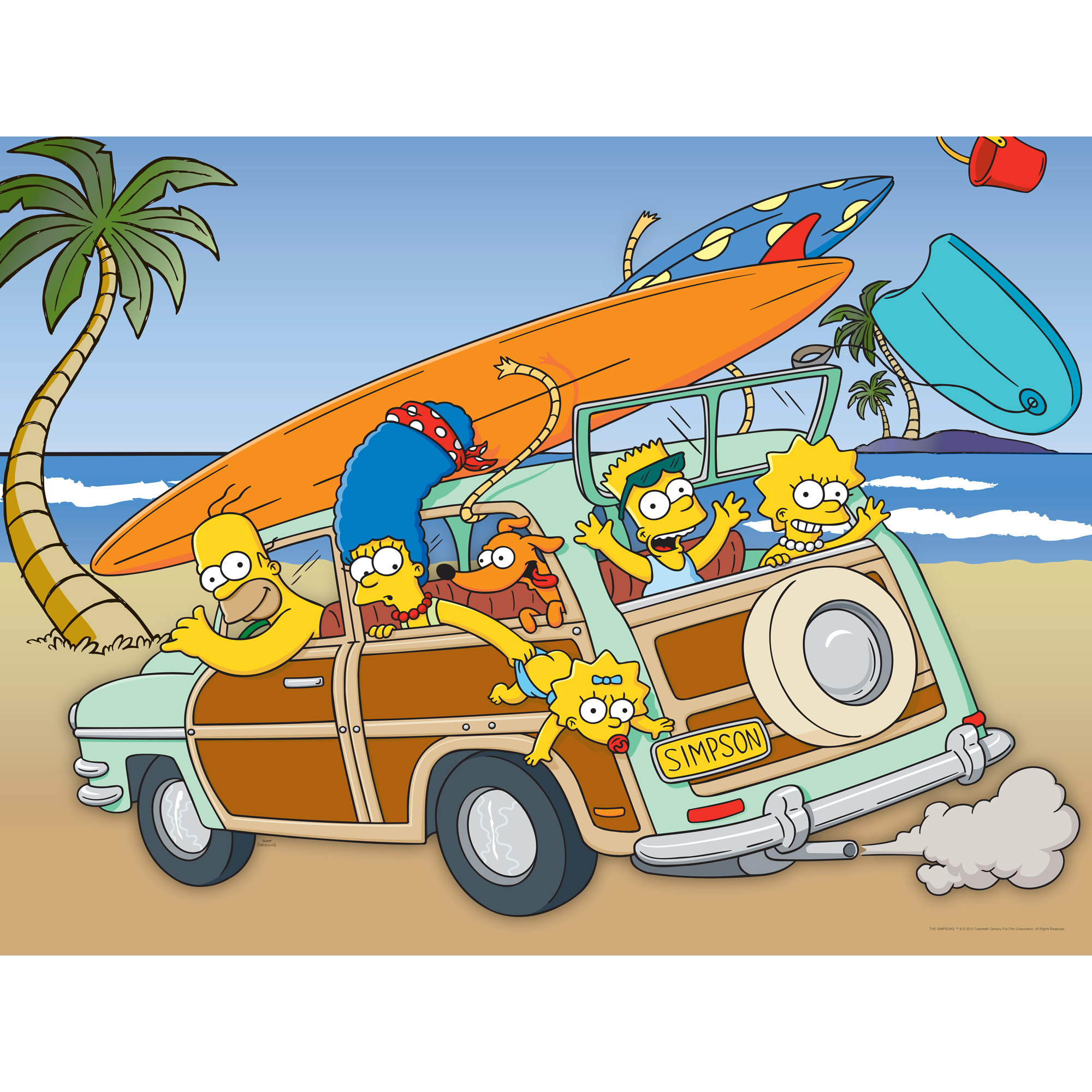 Simpsons On Vacation