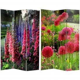 6 ft. Tall French Garden Double Sided Room Divider