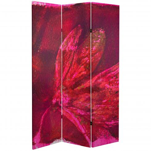 6 ft. Tall Double Sided Desire Canvas Room Divider