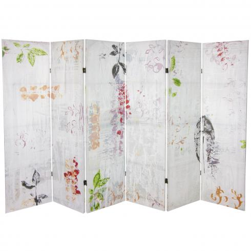 5¼ ft. Paradise Grove Canvas Room Divider