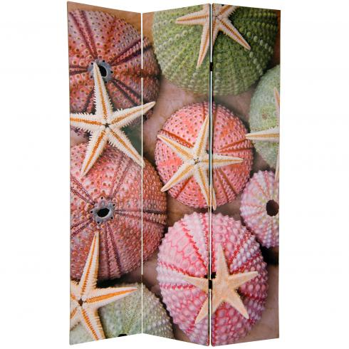 6 ft. Tall Double Sided Starfish Room Divider