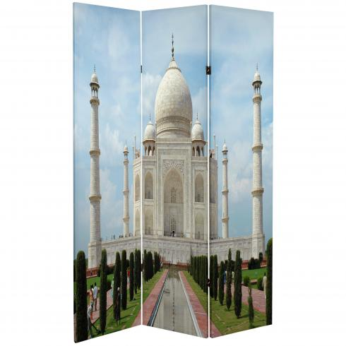 6 ft. Tall Double Sided Taj Mahal Room Divider