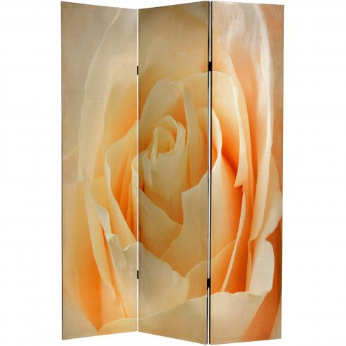 6 ft. Tall Floral Double Sided Room Divider
