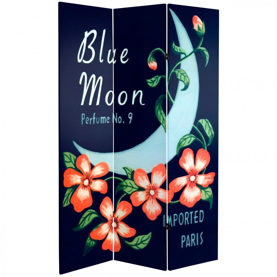 6 ft. Tall Double Sided Modiano/Blue Moon Room Divider