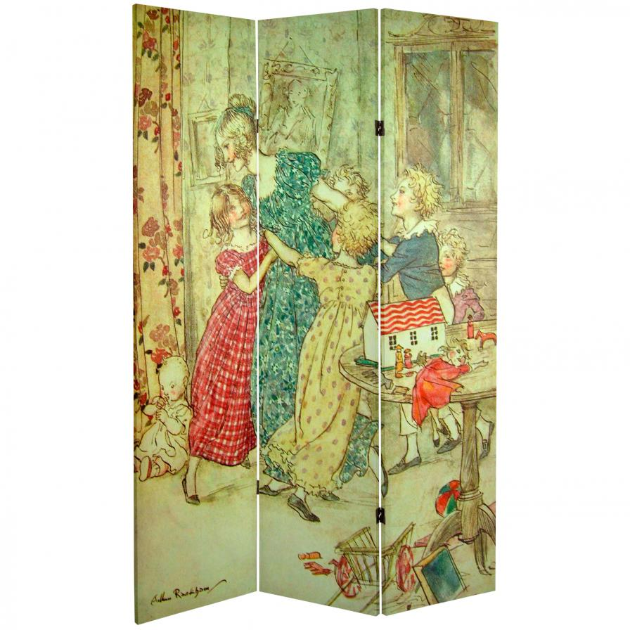 6 ft. Tall Double Sided Princess Fairy Tale Room Divider
