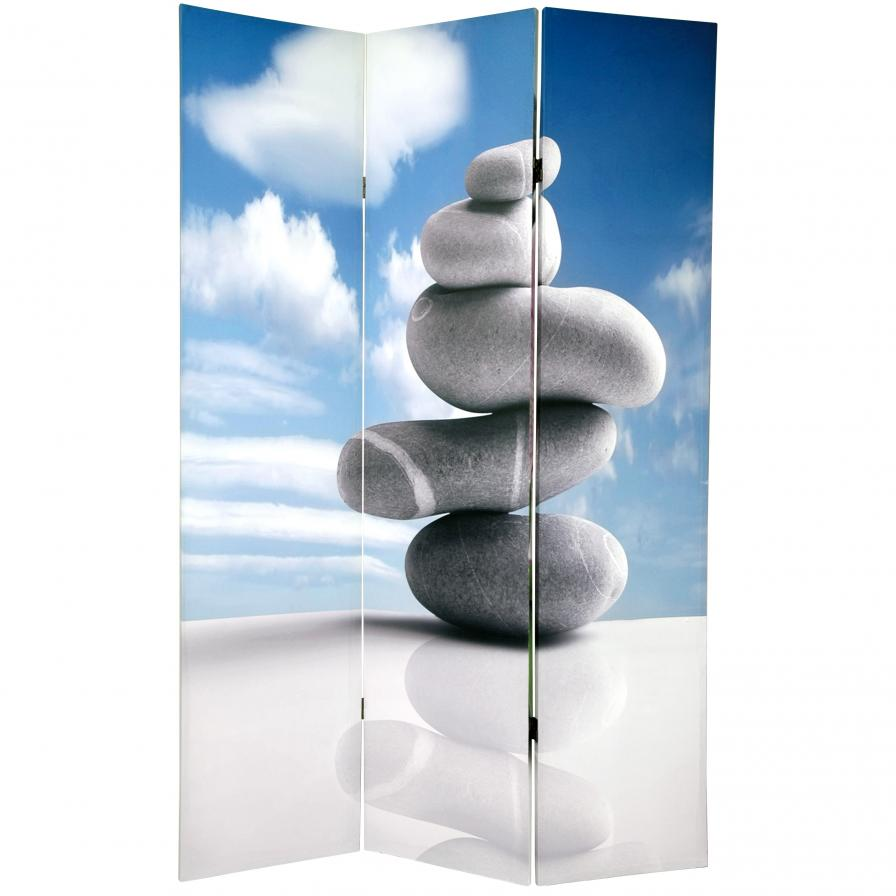 6 ft. Tall Double Sided Zen Room Divider