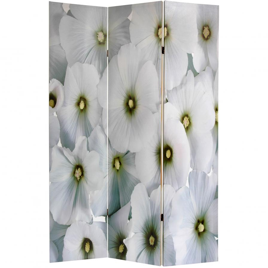 6 ft. Tall Floral Room Divider
