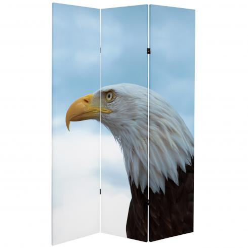 6 ft. Tall Double Sided Spirit of America Canvas Room Divider
