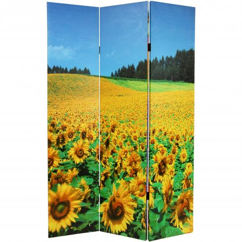 6 ft. Tall Summer Fields Double Sided Room Divider