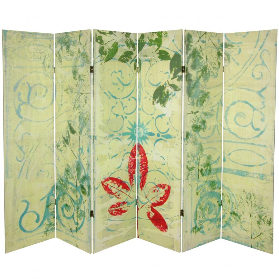 5¼ ft. Garden Gate Canvas Room Divider